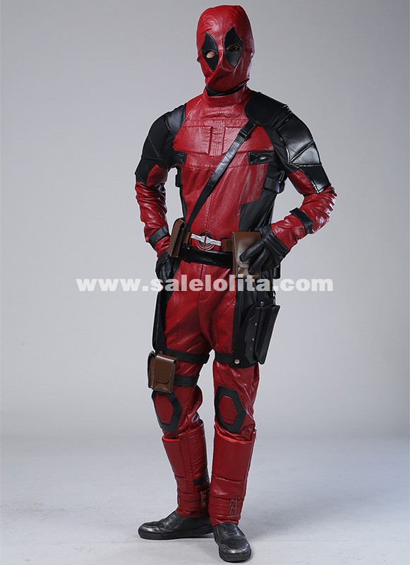 Superhero Deadpool Costume Movie Deadpool Cosplay Wade Wilson Costume Halloween Costume Superhero & Sci-fi costumes