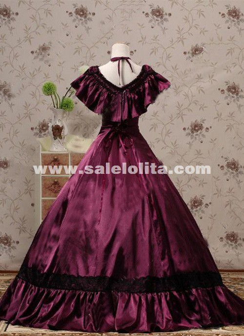 Brand New Victorian Edwardian Ball Gowns Princess Titanic Tea Party Dresses Reenactment Halloween Costumes