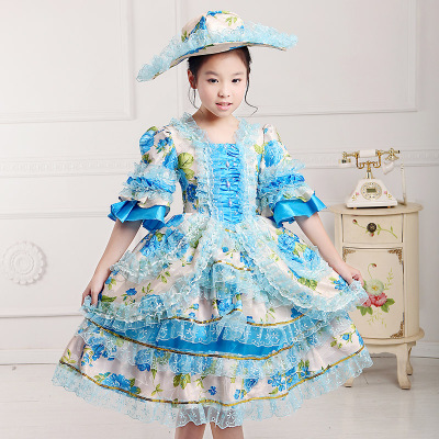 On Sale Child Performance Lolita Dresses Costume Children Halloween