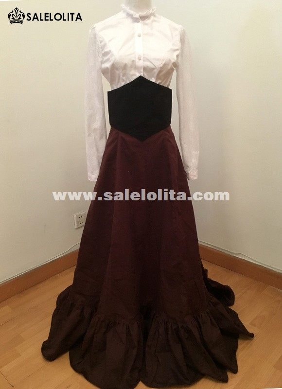 18th Gothic Victorian Edwardian Downton Abbey Dress Steampunk Theatrical Clothing