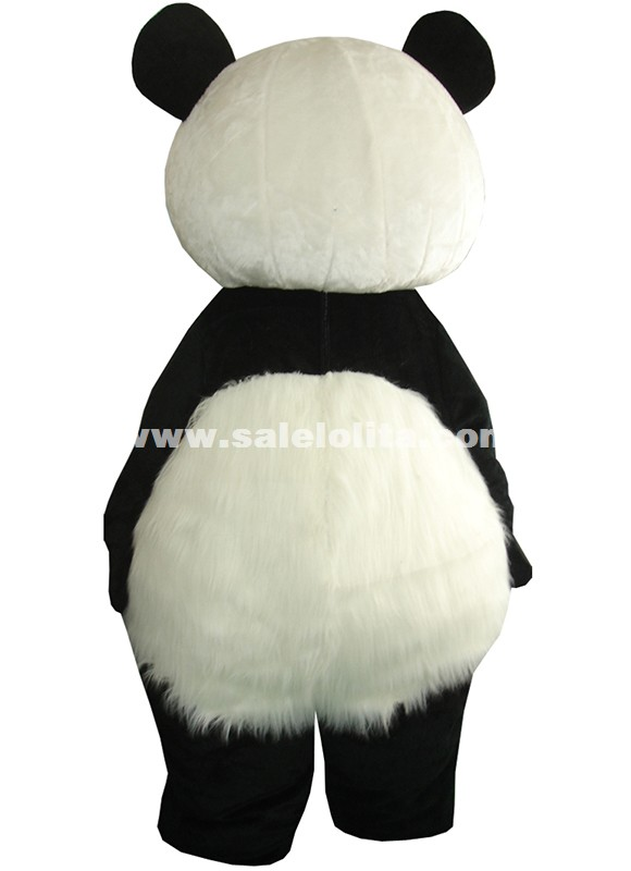 New Version Chinese Giant Panda Mascot Costume Christmas Cosplay Mascot Costume