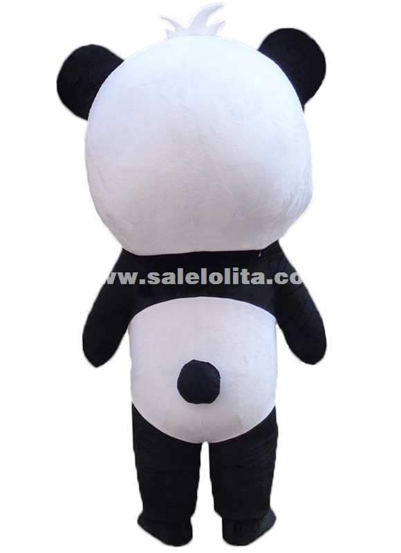 4d719613ec5c Cute Big Head Panda Mascot Costume Chinese Panda Cartoon Character Costume  Sc 1 St Salelolita.com