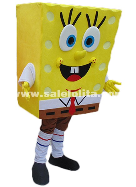 High quality of Spongebob Mascot Costume Sponge Bob Mascot Costume