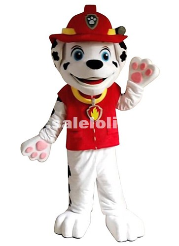 Patrol Dog Mascot Costume Animal Character Dalmatians Cartoon Costume