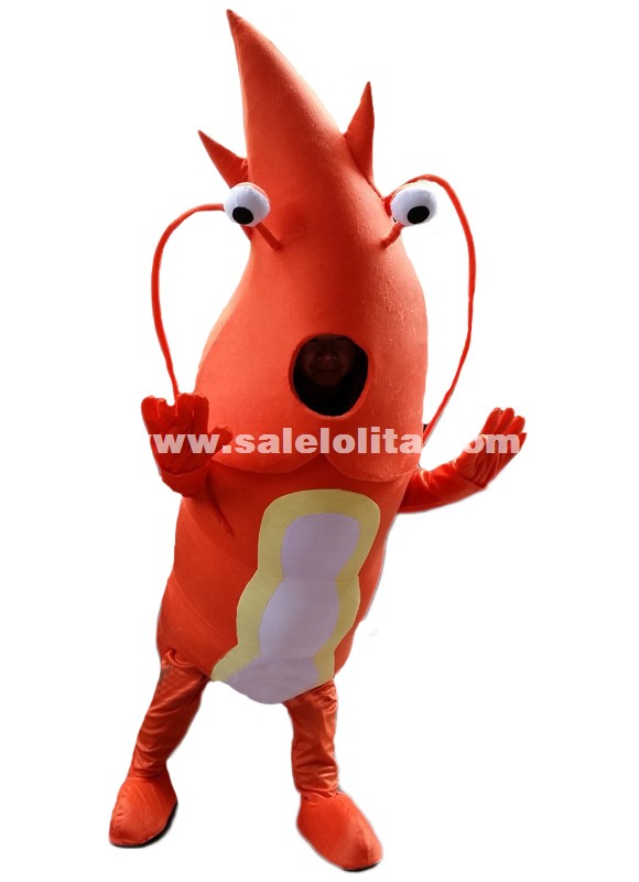 Fantasia Sea Lobster Mascot Costume Adult Size High Quality Plush Cloth Clothing