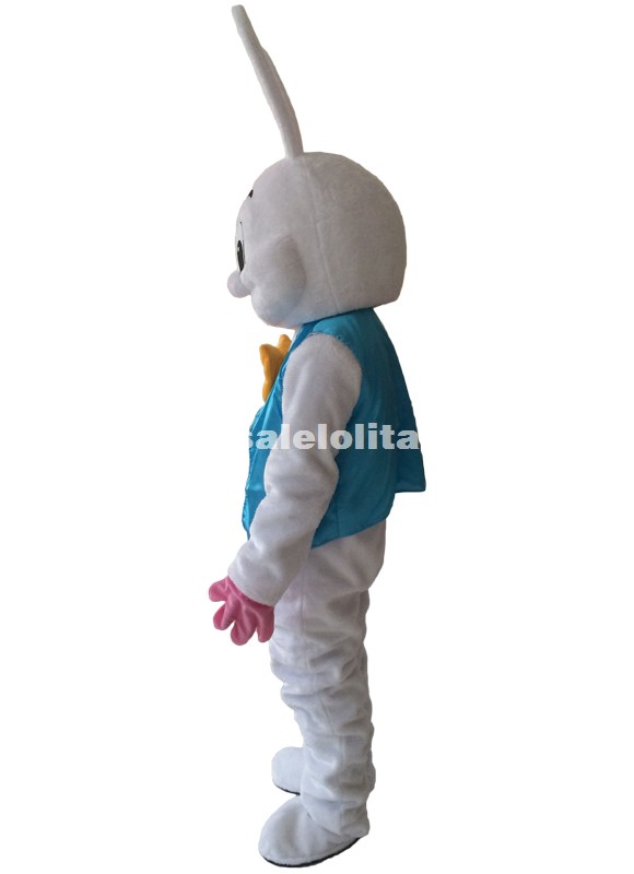 Holiday Easter Bunny Mascot Costume High Quality Adult Size Role Play Cosplay Parade Costume