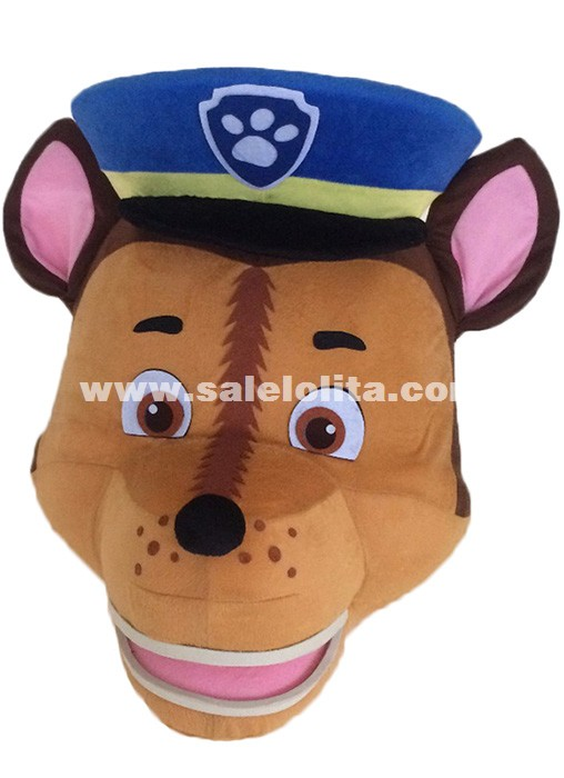 Adult Size Patrol Dog Mascot Costume Walking Doll Clothing Cartoon Show Costumes