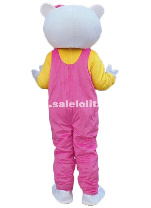 Miss Hello Kitty Mascot Costume Adult Size Pink Hello Kitty Mascot Costume adult mascot costume