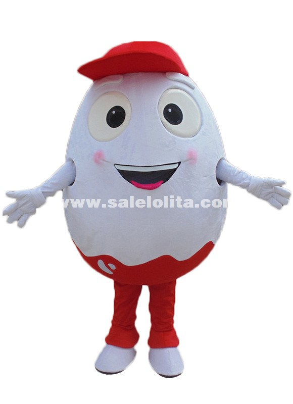 Easter Eggs Mascots Costume Egg Cartoon Fancy Costume Adult Size