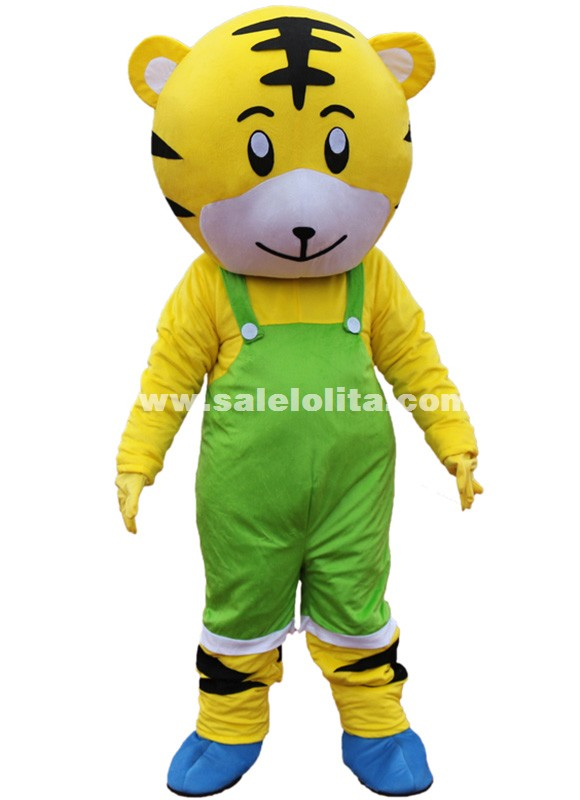 New Adult Qiaohu Shorts Tiger Mascot Costume Halloween Gift Costume Characters Sex Dress