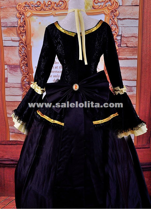 Renaissance Gothic Victorian Steampunk Dress Upscale Halloween Costume Medieval Historical Theater Women Costume