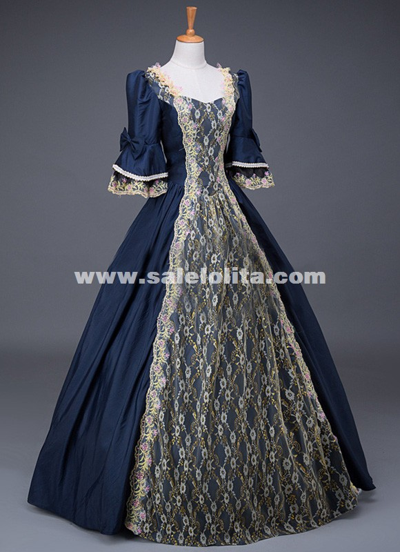 17th century historical theatre performance gown medieval for 17th century wedding dresses