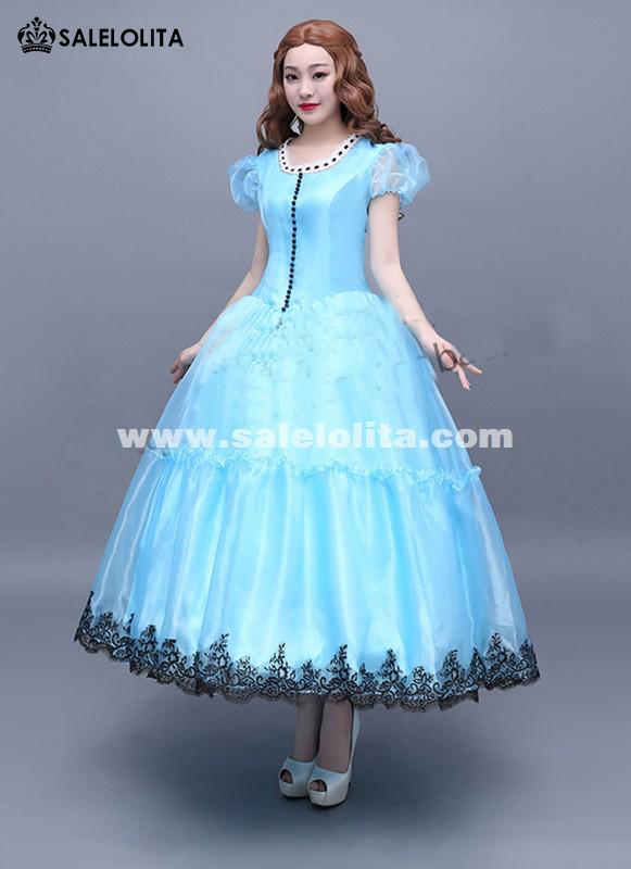 Brand New Disney Alice in Wonderland Costume Blue Alice ...
