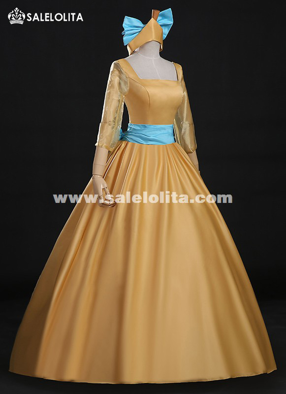Brand New Adult Women Princess Anastasia Dresses Movie Cosplay Costume