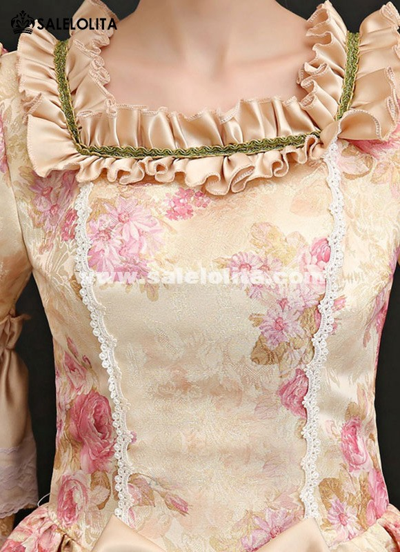9fab4f4dd1c09 Upscale Medieval Wedding Dress Masquerade Carnivale Gowns Theater Clothing