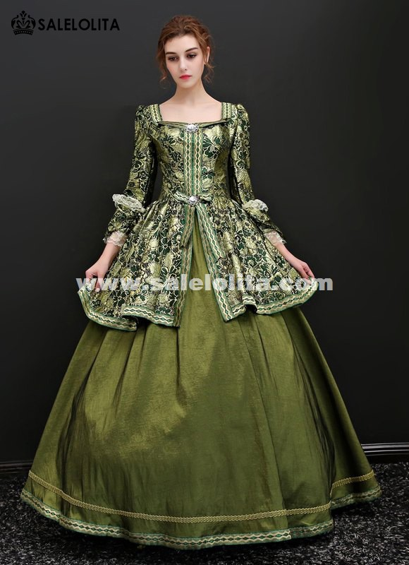 Victorian Southern Belle Vintage Marie Antoinette Dress Princess Theater Reenactment Clothing