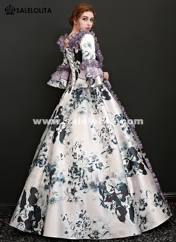 Rococo and Carnivale Gowns Christmas Masquerade Gown Theme Party ...