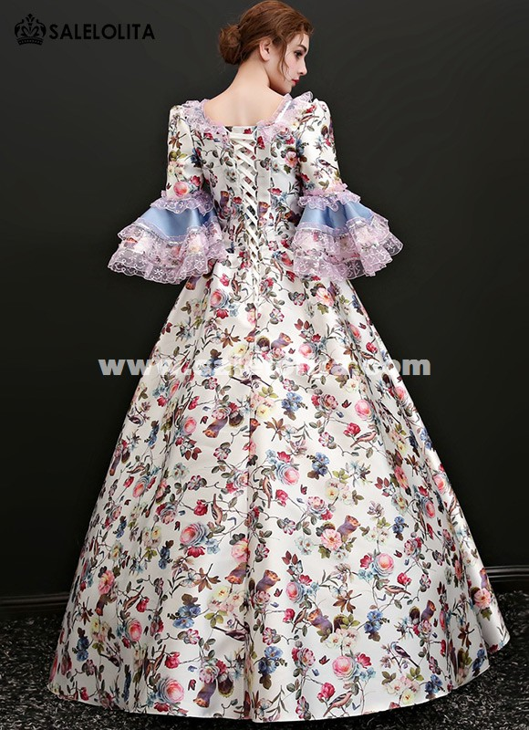 Renaissance Colonial Princess Game of Thrones Ball Gown Prom Reenactment Clothing