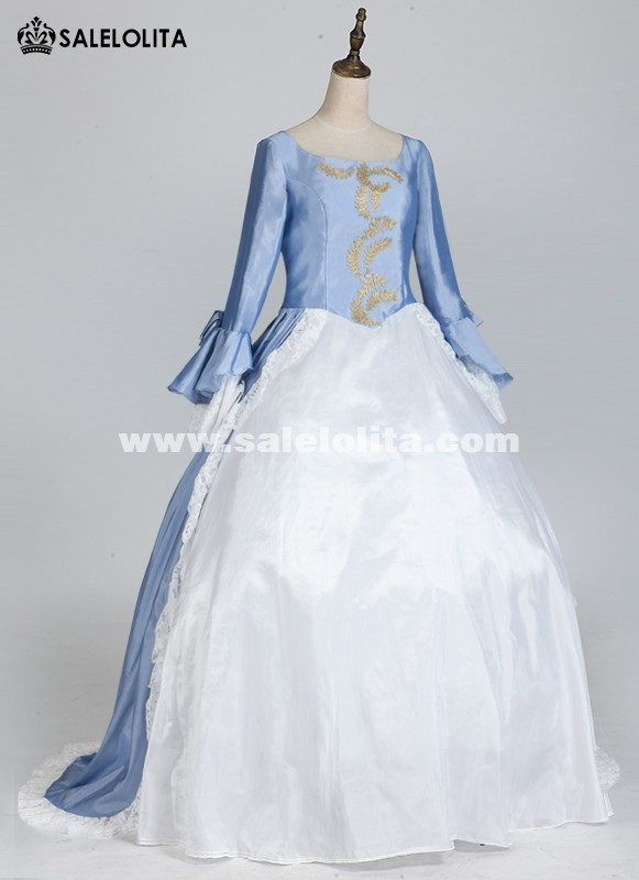 Floor Length Victorian Dress Masquerade Ball Gowns Evening Party Dress