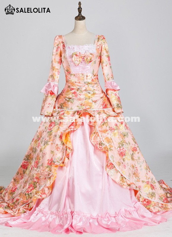 Victorian Party Dress Southern Belle Princess Ball Gown Dress Theatre Halloween Costume