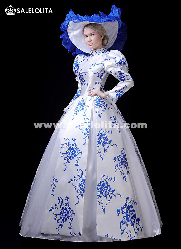 Newest Victorian Southern Belle Fantasy Fancy Party Dress