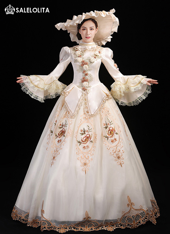 Lolita Southern Belle Princess Marie Antoinette Dress Vintage Fancy Dress Theater Costume Christmas Carnival Masquerade Gown