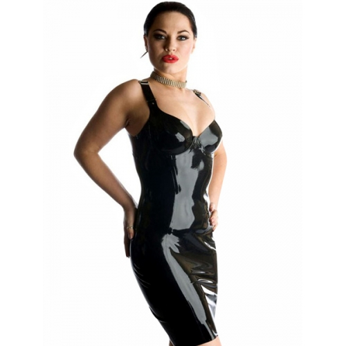 Black Catwoman Latex Catsuit