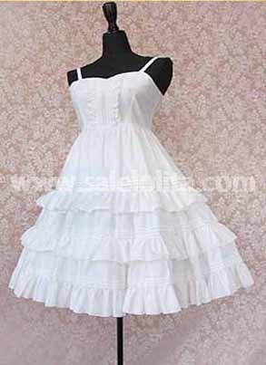 Sweet Pure White Princess Lolita Dress Salelolita Com