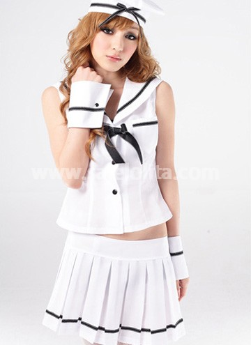 Sexy White Navy Uniform for Women