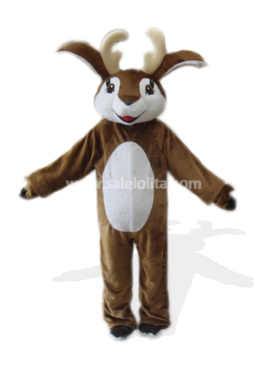 Brown And White Deer Costume