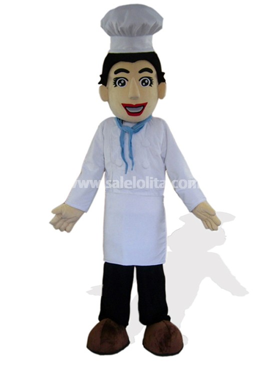 Handsome Cook Mascot Costume