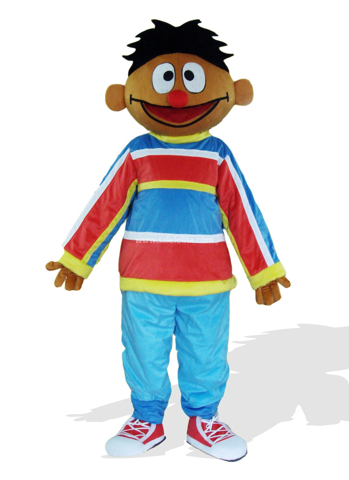 Brown Boy Mascot Costume for Sale