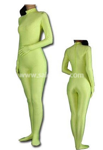 Green Spandex Full Body Zentai Suits