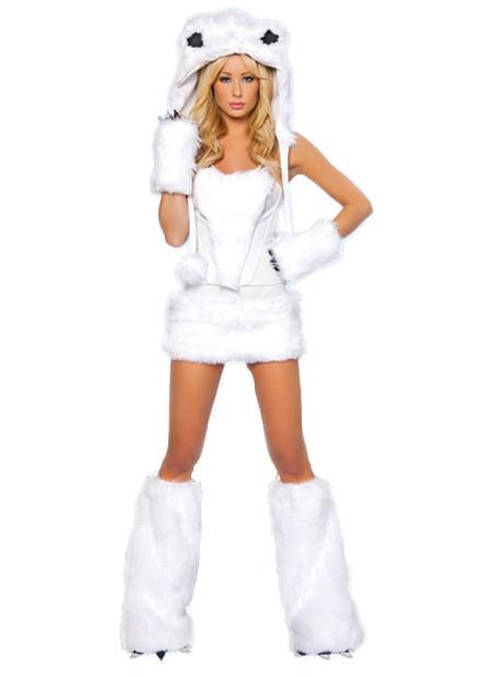 Womens Sexy Polar Bear Costumes 7f48d4a97