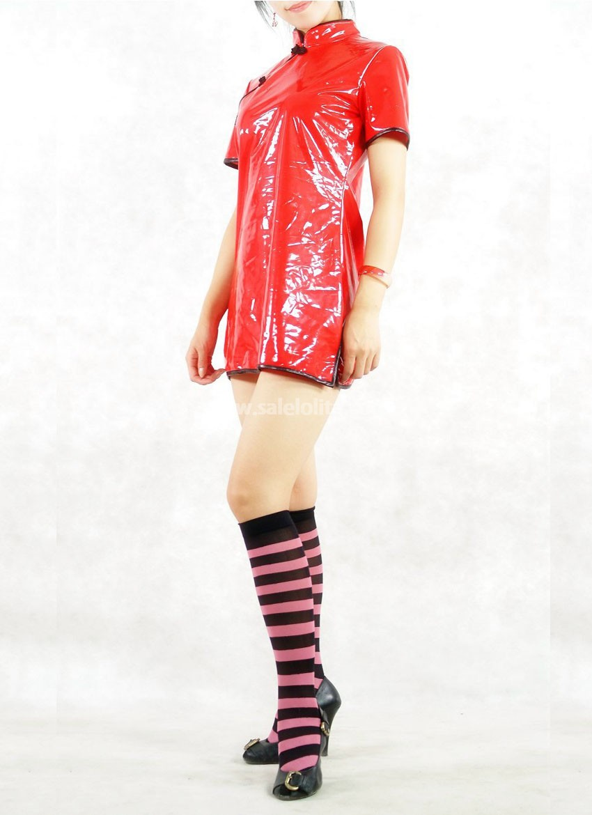Chinese Style PVC One Piece Dress
