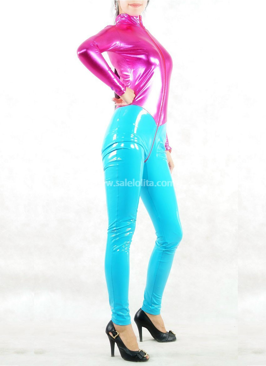 Super Sexy PVC Jumpsuits for Female