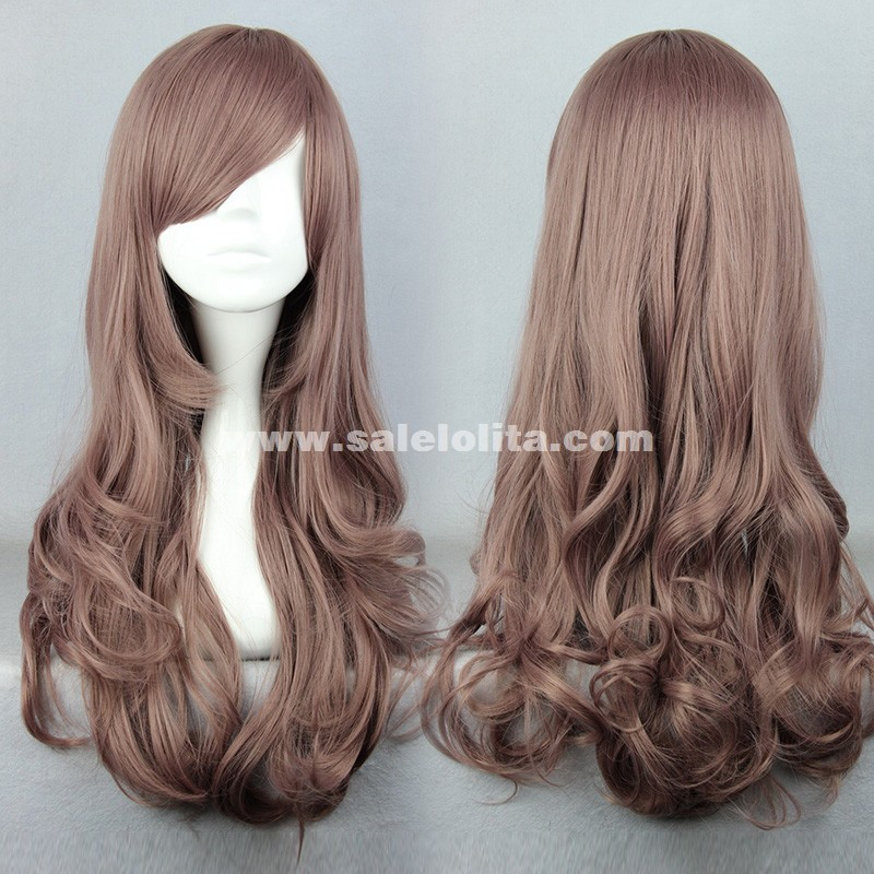 New Cosplay Lolita Wigs,Fashion Monochrome Curly Hair