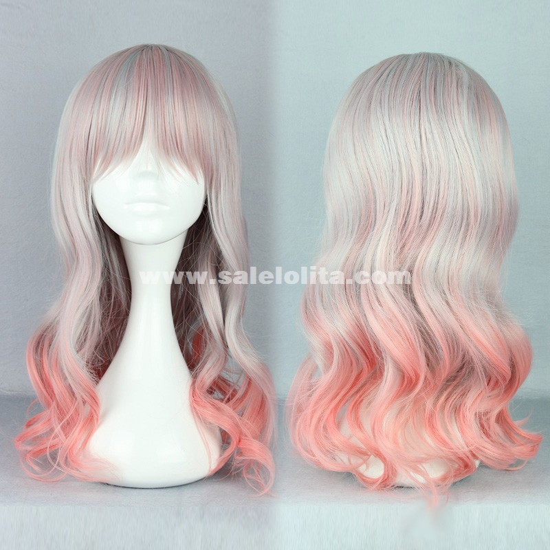 Fashion Japanese Cosplay Multicolor Lolita Wigs