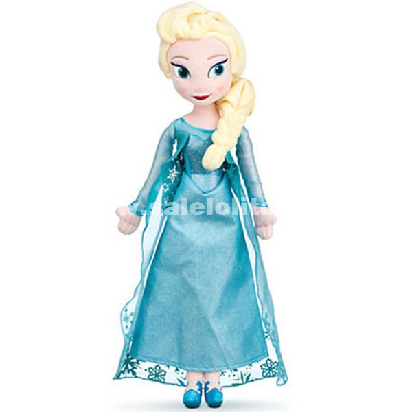 FROZEN Elsa & Anna Plush Toys Beautiful Elsa & Anna Doll