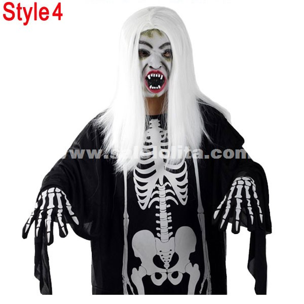 Kids & Adults Terrorist Of Ghost Clothes Black And White Halloween Vampire Costumes