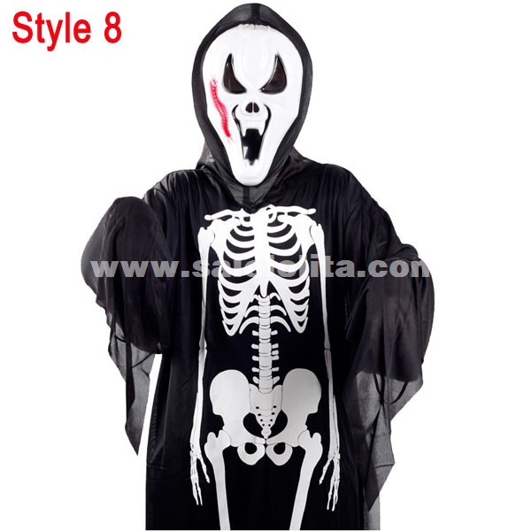 Halloween Ghost Clothing,Halloween Vampire Costumes For Kids And Adult