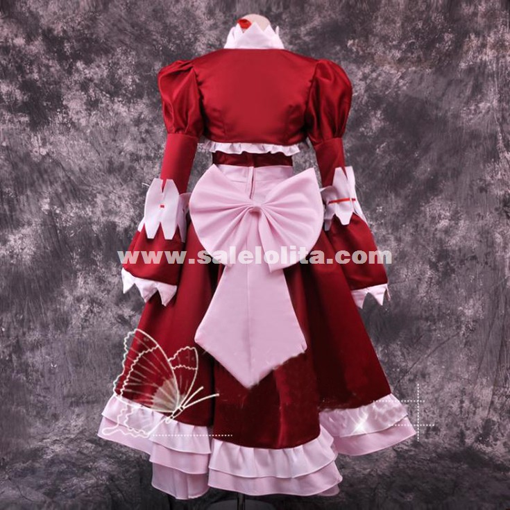 Black Butler Ciel Kuroshitsuji Elizabeth Party Dress Cosplay Costumes