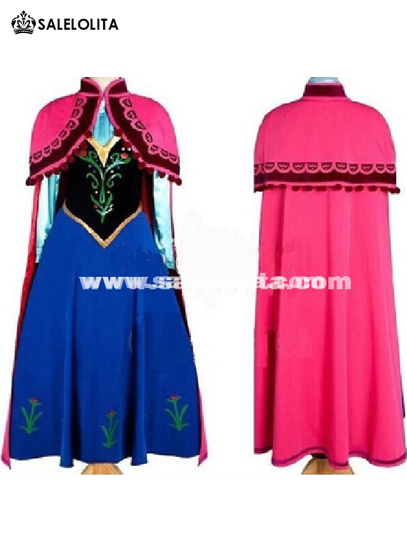 2016 Custom Made Movie Cosplay Fatasia Festa Frozen Costumes Adult u0026 Kids Princess Anna Costume Women. Loading  sc 1 st  Salelolita.com & 2016 Custom Made Movie Cosplay Fatasia Festa Frozen Costumes Adult ...