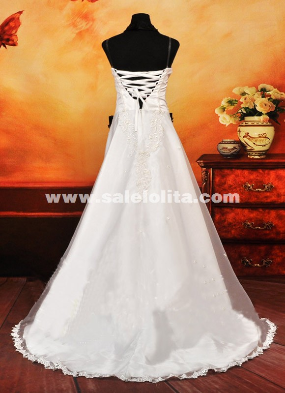 Anime VOCALOID Cosplay Costumes White Strapless Dresses With Long Tailed