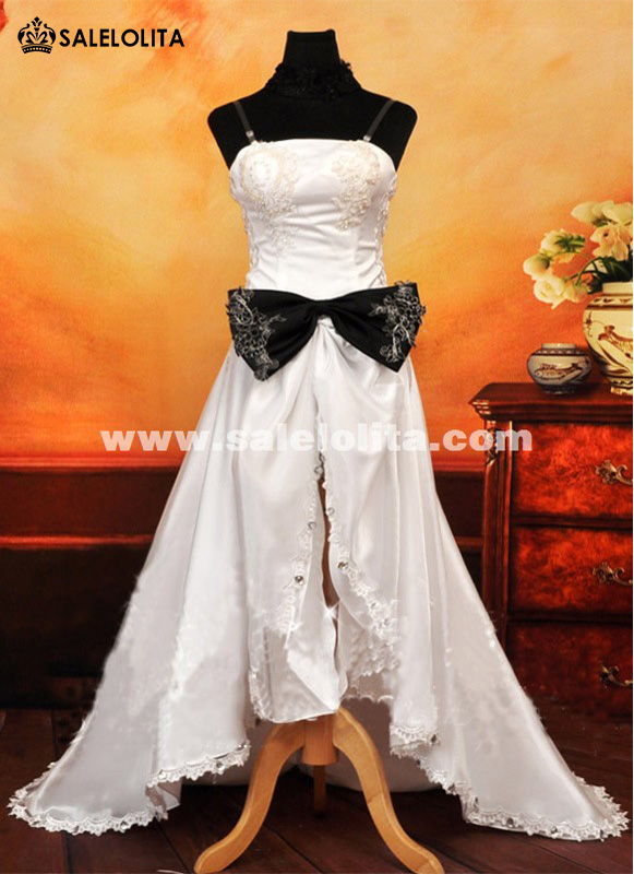 White Long VOCALOID Cosplay Dress