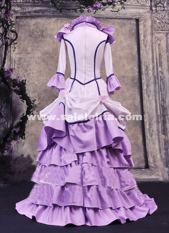 Anime Chobits Chii Freya Cosplay Dress Purple Cobits Chii Women Cosplay Costumes