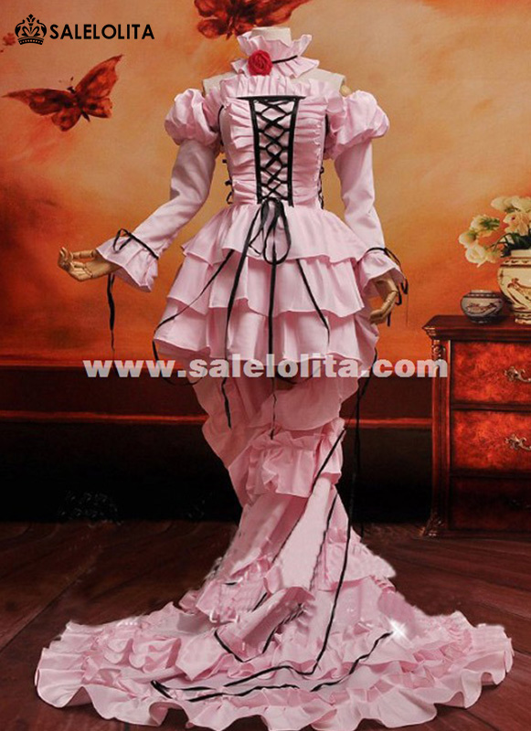 Custom Anime Chobits Chii Freya Women Cosplay Dress Party Dresses