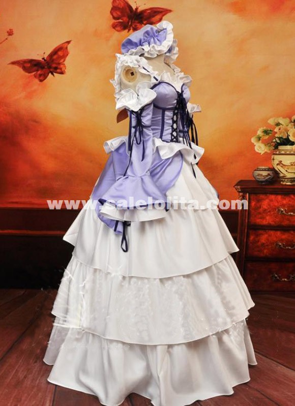 Custom Anime Chobits Chii Women Cosplay Party Dress Customes