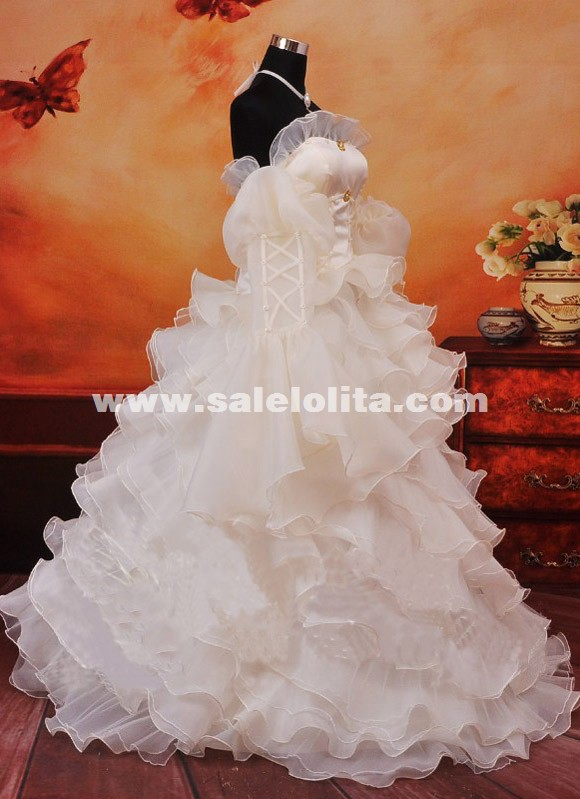 New Anime CODE GAESS Cosplay Dress White Anime Euphemia Cosplay Dress Costumes For Women