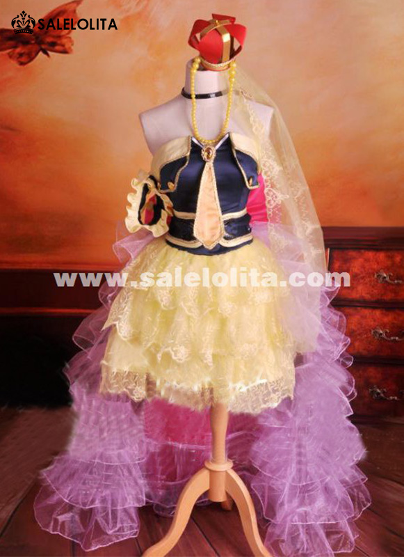 2019 NEW Anime Macross Frontier Cosplay Costume The End Of Triangle Cosplay Dress